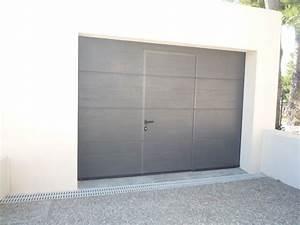 Porte De Garage Sectionnelle Avec Porte : porte de garage sectionnelle sanary ~ Edinachiropracticcenter.com Idées de Décoration