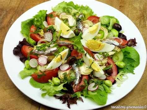 variations gourmandes la salade ni 231 oise la salada nissarda