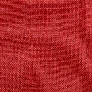 Red Sultana Burlap Fabric