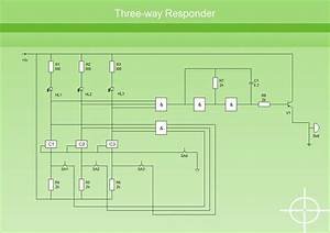A Basic Electrical Circuit Diagram Is A Simplified