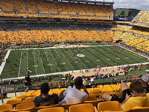 Rfk Stadium Seating Chart Heinz Field Seating Chart With Rows Cabinets Matttroy
