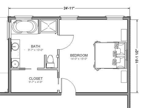 bedroom floorplan 20 39 x 14 39 master suite layout search le petit