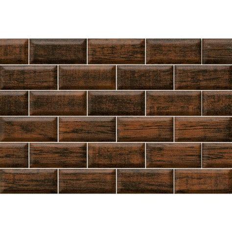 nitco wall tile brick wood brown bangalore tiles