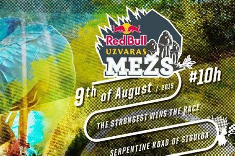 Pirmoreiz notiks Red Bull Uzvaras Mežs sacensības