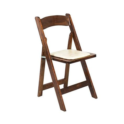 fruitwood folding chair rental oconee events product catalog