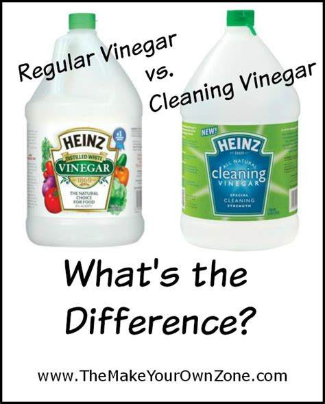 how to mix vinegar for cleaning regular vinegar vs cleaning vinegar