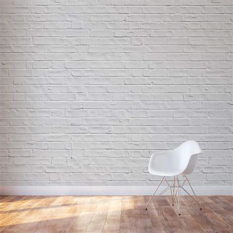Chalkboard Kitchen Wall Ideas - white brick wall mural brick wall decal wallums