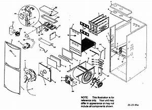 Armstrong Gas Furnace Parts Diagram Model By Number