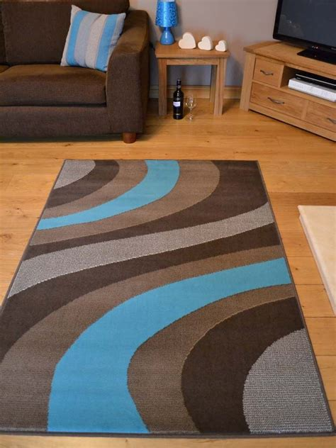 Teal And Brown Area Rugs by New Light Teal Blue And Brown Small Large Size