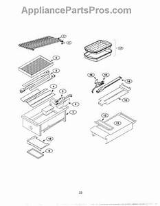 Parts For Thermador Prg364gdus  Grill Parts