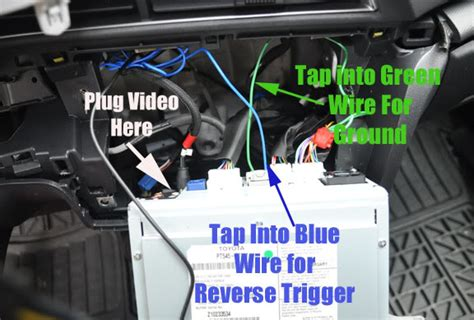backup camera install tc alpine hu scionlifecom