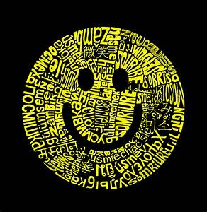 The Word Smile - wallpaper.