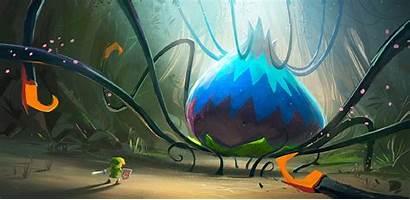 Zelda Waker Wind Legend Artwork Sword Boss