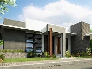 1 Floor Simple Modern House Idea