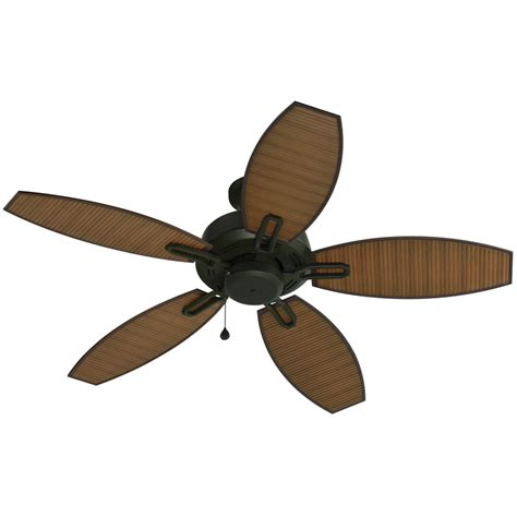 harbor breeze outdoor ceiling fan shop harbor breeze ocracoke 52 in specialty bronze outdoor