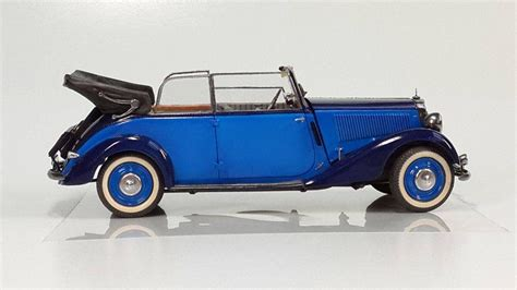 35107 German Car Type 170v Cabriolet B + Gunn78