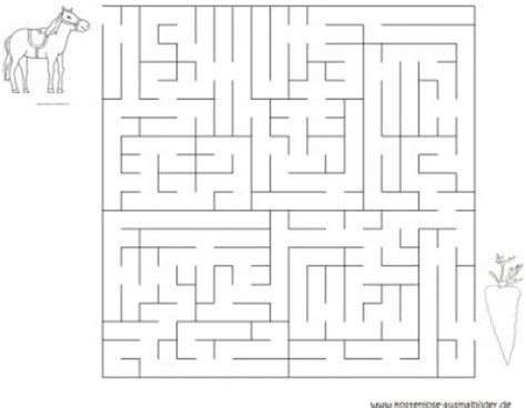 labyrinth vorlagen ausdrucken labyrinth pferd
