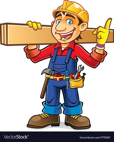 Builder Free by Builder Idea Royalty Free Vector Image