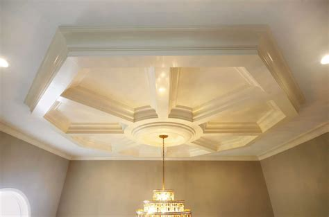 Easy Coffered Ceiling In A Day