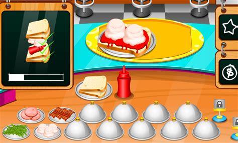 jeux de cuisine d free sandwich et vite with jeux gratuits pour garcon