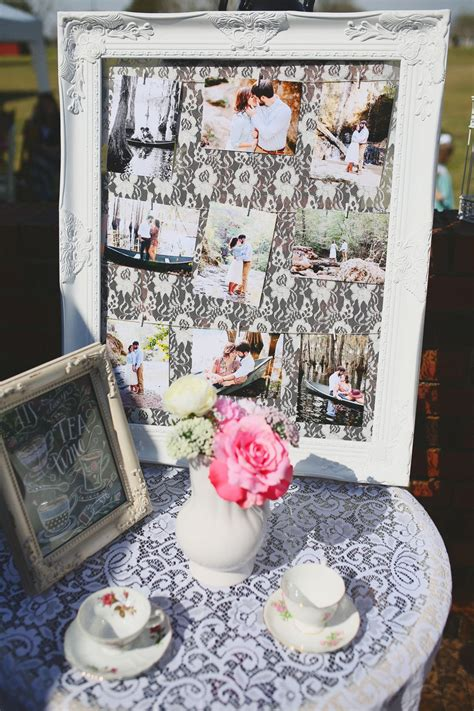 Southern Belle Tea Party themed Bridal Brunch Shabby