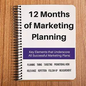 12 month marketing plan template calendar With 12 month marketing plan template