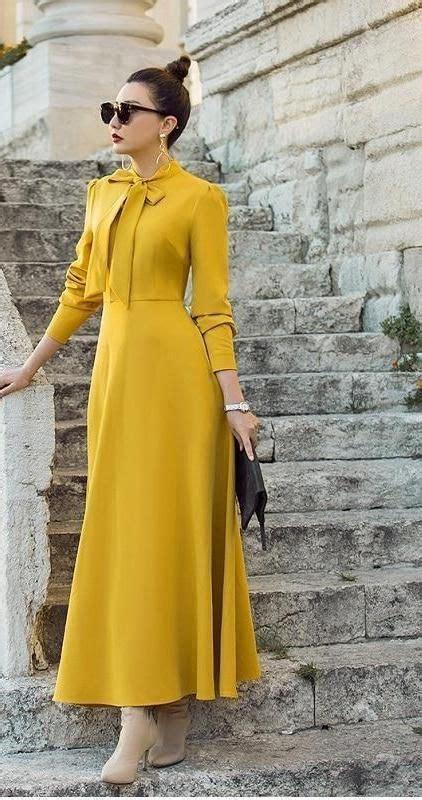 bow tie elegant long dress   boutique wear
