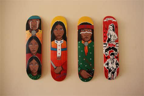 veteran artist douglas miles apache skateboards teach