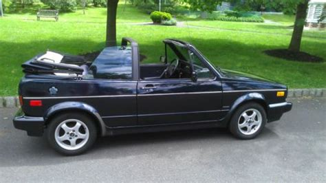 free car manuals to download 1991 volkswagen cabriolet parental controls purchase used 1991 volkswagen cabriolet etienne aigner karmann convertible 2 door 1 8l rare