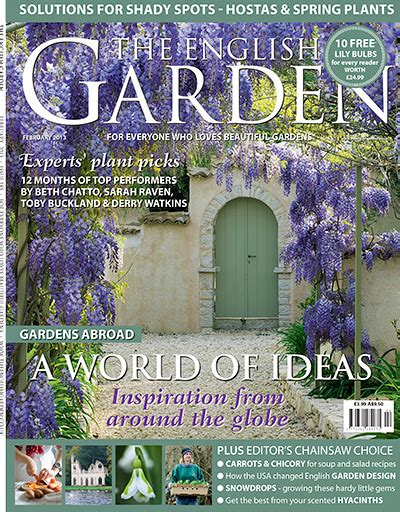 the garden subscription the english garden magazine february 2013 187 pdf magazines archive
