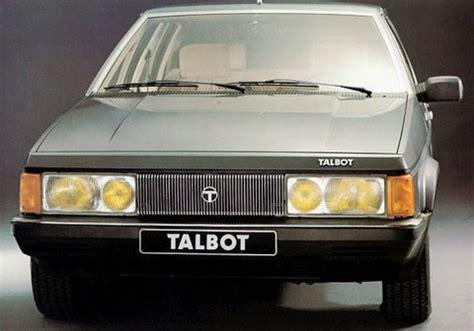 bureau qui se ferme talbot tagora 1980 1983 l 39 automobile ancienne