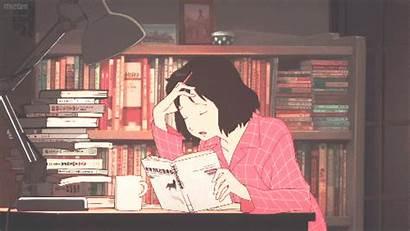 Yuki Ame Kodomo Ookami Gifs Anime Reading