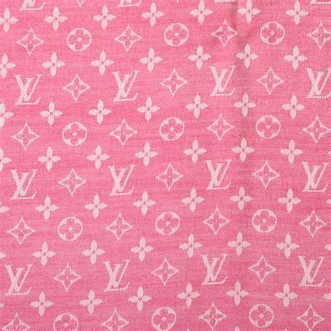 louis vuitton silk wool monogram denim shawl pivoine