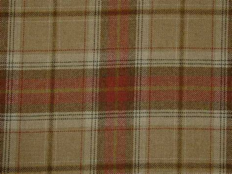 plaid upholstery fabric wool tartan plaid oatmeal check fabric curtain