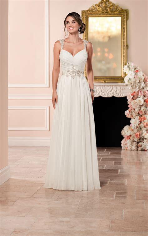 Romantic Wedding Dress With Keyhole Back Stella York