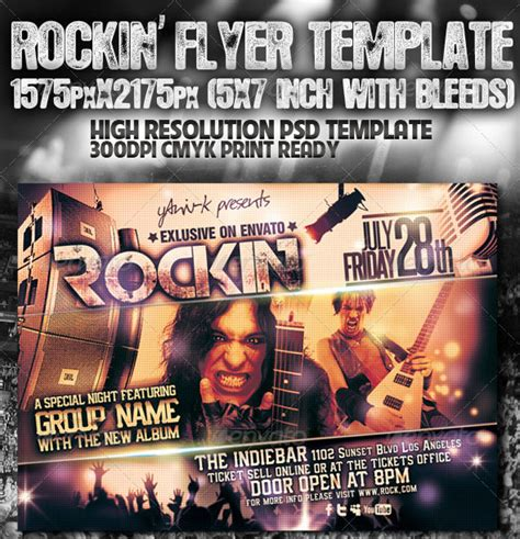 Electro Flyer Poster Template Vol 4 Torrent by 50 Free And Premium Psd And Eps Flyer Design Templates