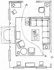 One Living Room Layout  U2013 Seven Different Ways