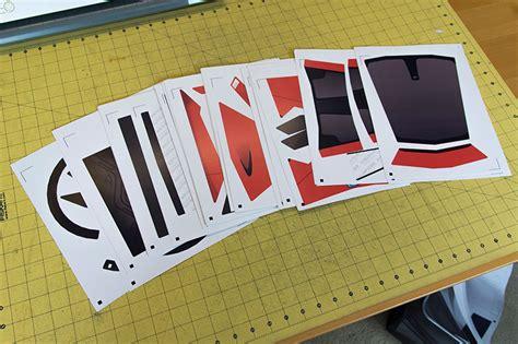 cars mclaren p papercraft   create