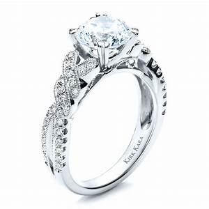 diamond split shank engagement ring with matching wedding With diamond wedding rings