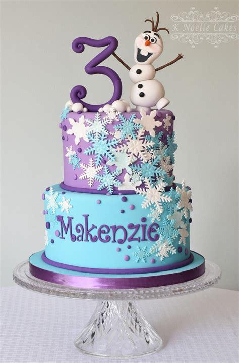 frozen theme cake  olaf   noelle cakes cakes
