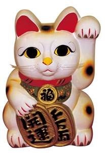 lucky cat maneki neko the japanese lucky cat the beckoning cat