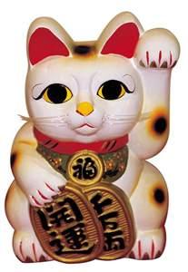 japanese lucky cat maneki neko the japanese lucky cat the beckoning cat