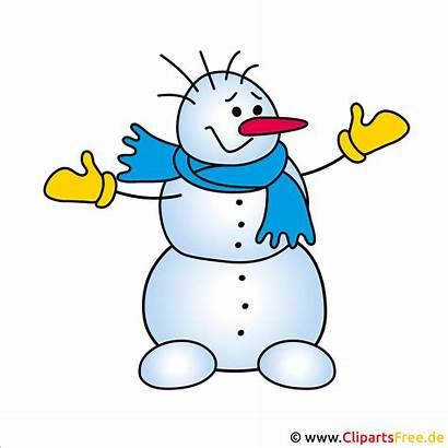 Schneemann Clipart Winter Snowman Weihnachtsbild Gratis Cliparts