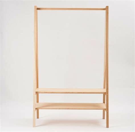 douglas  becs garment rack wooden clothes rack