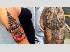15 London And Big Ben Tattoos For Your British Side Tattoodo