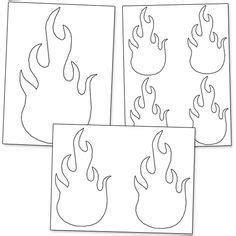 tongues  fire headband template jesus storybook bible