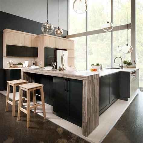 profondeur standard plan de travail cuisine naturelle cuisine laminé mdf dekton stratifié