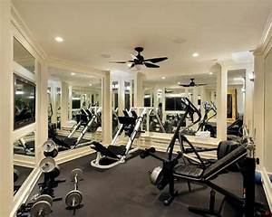 Home gym design ideas sweat it out in your own home for Hgtv home designhome gym design ideas