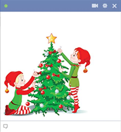 christmas emoticons facebook symbols and chat emoticons