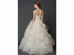 vera wang helena luxe 3999 size 8 used wedding dresses With vera wang wedding dresses for sale